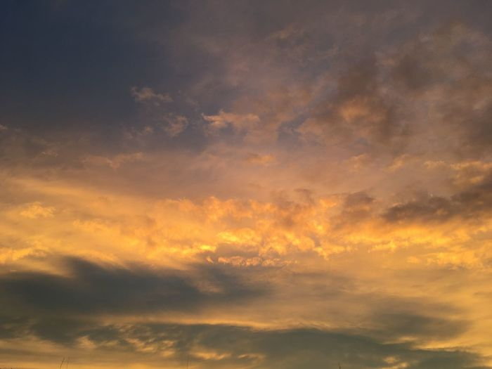 Background Dramatic Sky Cloud Dawn Cloud - Sky Sky Sunset Beauty In Nature Scenics - Nature Orange Color Tranquility Dusk Idyllic Meteorology