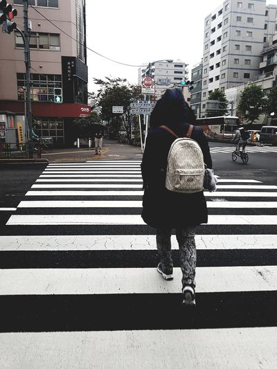 Enjoy The New Normal Young Adult Point Of View Samsung Galaxy S7 Samsungphotography Japan Photography Japan Tokyo Fall Season November2016 People Walking  Zebra Crossing Monochrome