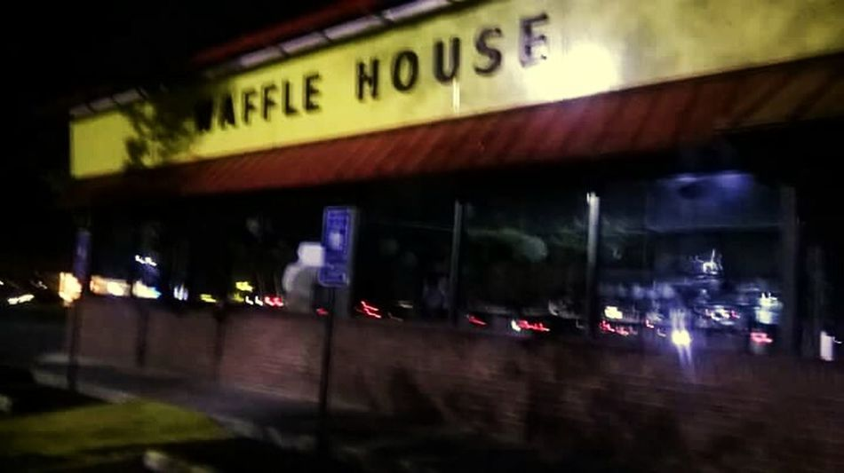 Waffle House actually closed Night Building Exterior Architecture No People Waffle House Closed Closed Places Closed Down Closed Store