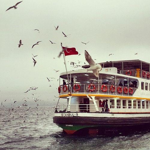 Istanbul Turkey Eminönü Deniz vapur istanbulbosphorus