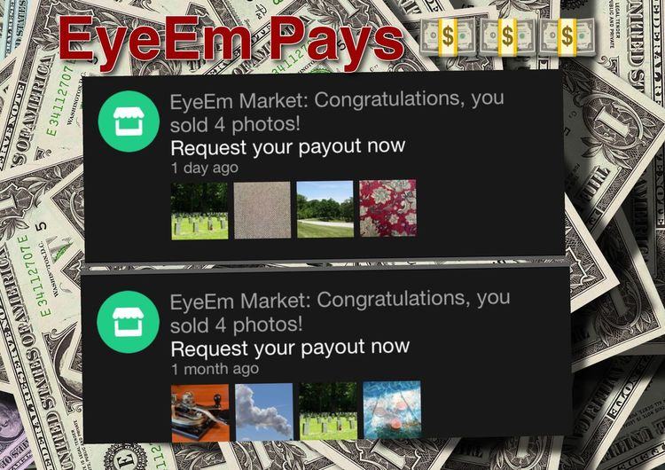 EyeEm Pay$ Text