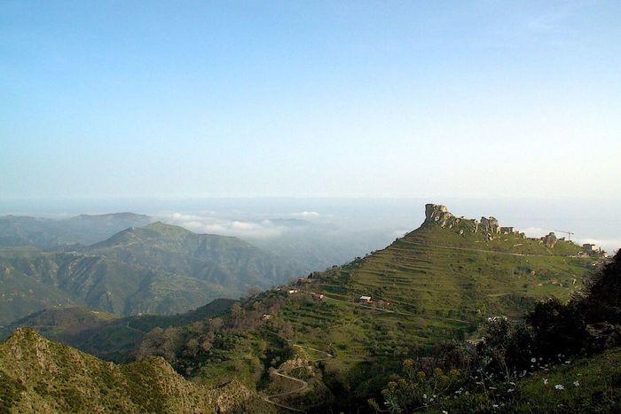 Mountains Panoramic Relaxing ReggioCalabria Magna Grecia Clouds And Sky Fog Rocks Green Calabria