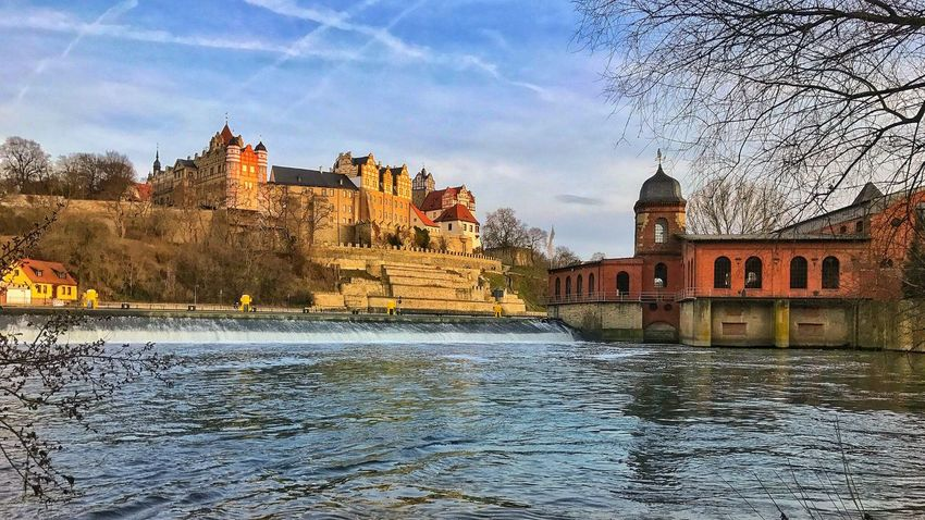 Architecture Bridge - Man Made Structure Building Exterior Built Structure Cloud - Sky Day History Medieval Nature No People Outdoors River Sky Travel Destinations Tree Water Waterfront