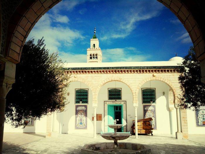 Mosque Tunisie Sunshine