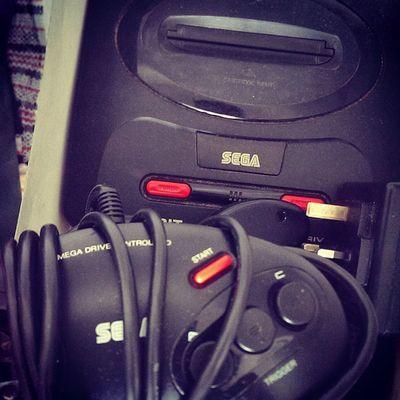 Saaaaaaaygaaaaaaa! Look what I just dug up! Sega Megadrive Classic Gaming Console Oldschool Throwbackthursday  Memories Games Nostalgia