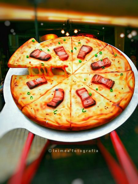 "Have a taste to Prosperity Court best seller pizza, the Chicken Pork Pizza or so called ""CPA"". Pizza ChickenPorkPizza Musttry  BestatRWM Longing Food Photography Snapseed Leimeafotografia Eyeem Philippines"
