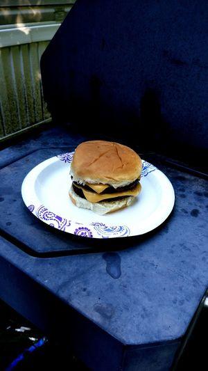 A True American Burger Grilling Hamburger Cookout Michigan Fresh Meat