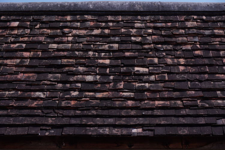 Wood roof Wood Architecture Backgrounds Building Exterior Built Structure Close-up Day Full Frame Industry Nature No People Outdoors Pattern Roof Textured  Wood - Material Wood Texture