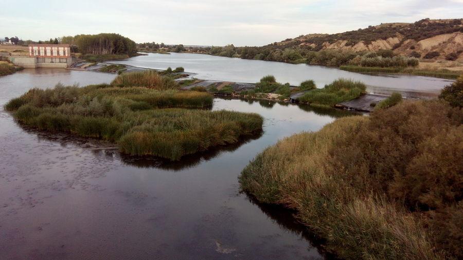 Talavera de la reina Beauty In Nature Day Grass Lake Marsh Nature No People Outdoors Reflection Scenics Sky Talavera De La Reina Water