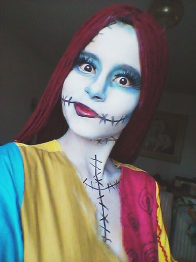 IN THIS TOWN OF HALLOWEEN! That's Me Sally The Nightmare Before Christmas Oestranhomundodejack