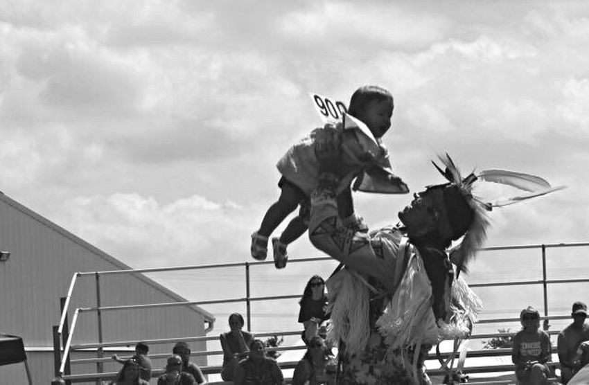 Native Love // Sky Outdoors Powwow Indigenous  Native Native American First Nations Dance Baby