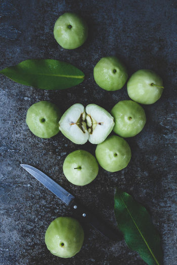 Green Mountain Apples ASIA Bamboo Basket Food Fresh Fruit Green Green Plums Healthy Food Leaf Metal Mountain Apple Tree:) Nature Nutrition Old Wood Plant Plum Raw Sweet Tasty Viet Nam Vietnamese Plum Vitamin