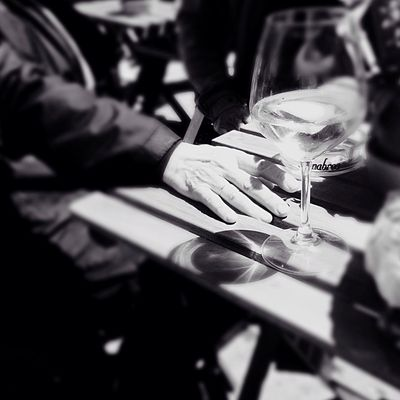 Tavolo. Table Trieste Structures Together Blackandwhite Sittingwaitingwishing Last Story My Favorite Place Vino Timeswehad Glass Barbacan Hand Shadow Remember Monochrome Photography The City Light