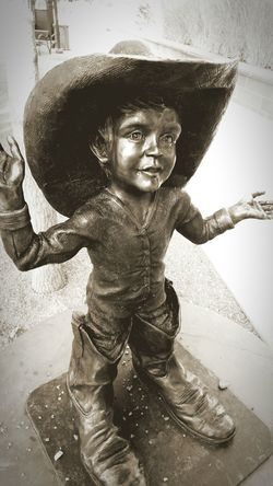 Bronze Statue Landmark St. George Utah No People EyeEm Gallery Abstract Sepia Photography Sepia_collection Show Me Your Sepia Sepia
