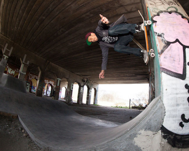 Action Fisheye Nicky Guerrer Outdoors RAD Skateboarding