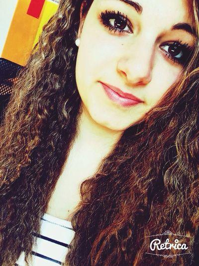 Brown Eyes Brown Hair Locken YOLO ✌