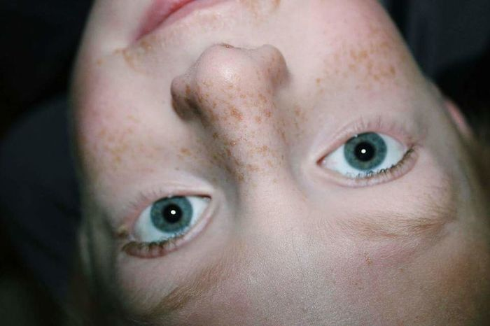 Portrait Eyes Blue Eyes Kid Freckles Freckle Face