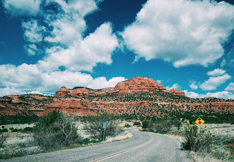 Sedona red rock canyon road trip Sky Cloud - Sky Day Beauty In Nature Nature Scenics - Nature No People Sunlight Outdoors Tree Landscape Tranquil Scene Land Tranquility Idyllic Field Non-urban Scene Environment Plant
