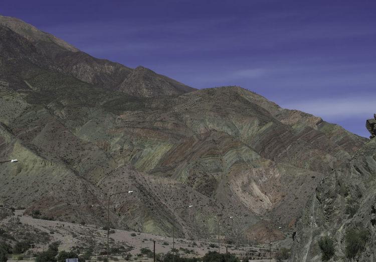 Beauty In Nature Cerro De Los 7 Colores Contrastes Naturales Day Geology Jujuy! Purmamarca Purmamarca