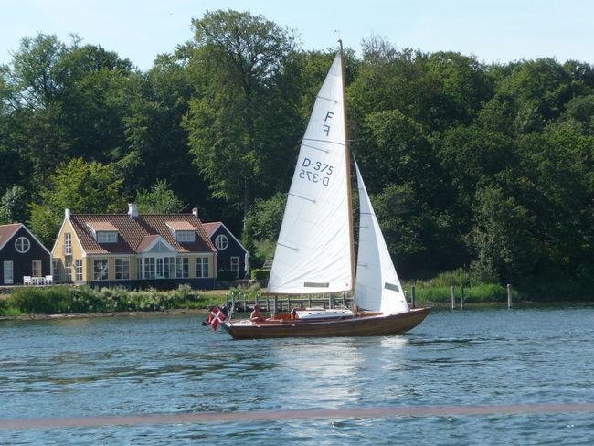Svendborg Sailing Baltic Sea Lands End Summer Boats Folkeboot
