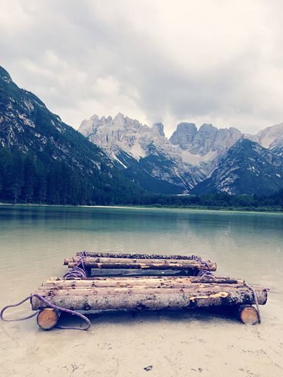 Lago Di Landro Italy Mountain Lake Tranquility Mountain Range Nature Beauty In Nature Scenics Tranquil Scene Water Day Outdoors No People Sky Snow Snowcapped Mountain Landscape Mountain Peak Cold Temperature Green Taking Photos EyeEm Best Shots Nature Nature_collection