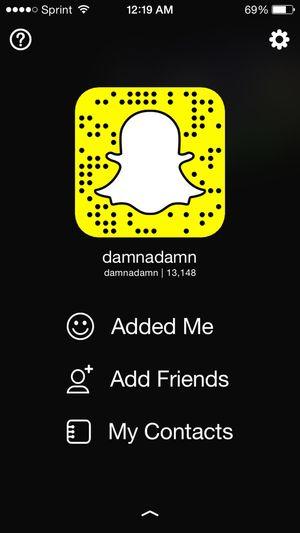 Add me on snapchat! Snapchat