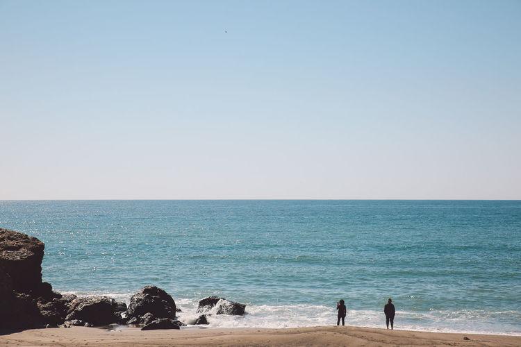 California Malibu Pacific Point Dume Rock Formation Beach Ocean Sand Lost In The Landscape California Dreamin