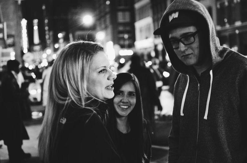 Sidewalk stories Black & White People Night City Eye4photography  EyeEm Best Shots EyeEm Adventures In The City