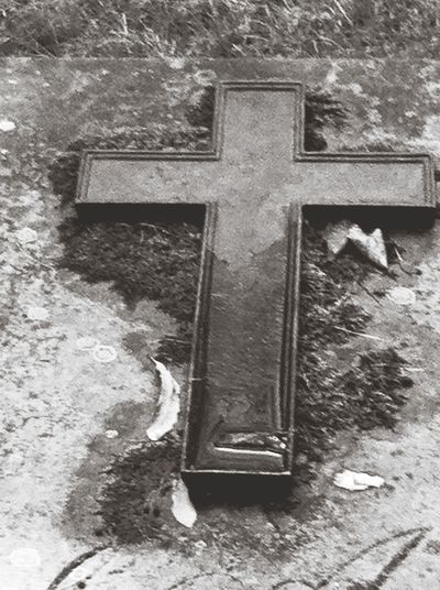 Graveyard Beauty Beauty Of Decay Blackandwhite