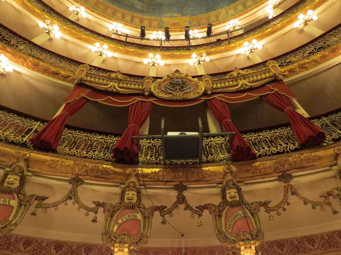 Architectural Feature Architecture Brazil Built Structure Indoors  Low Angle View Manaus Manaus Theatre Manaus, Amazonas, Brazil Manaus.Brasil Travel The World