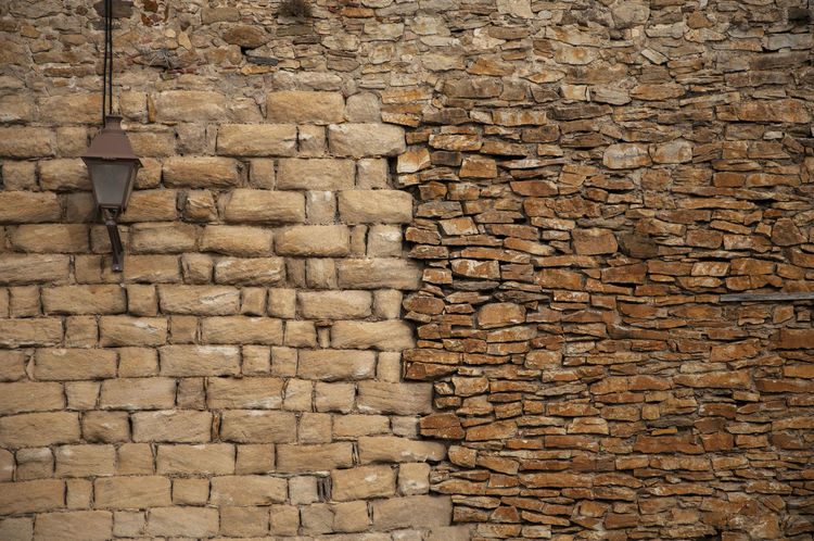 """""""cutted stones """" stone wall in Peratallada, Catalunya Architecture Beige Forallac Lantern Wall Backgrounds Building Exterior Built Structure Close-up Cutted Stones Day Full Frame Lamp No People Outdoors Peratallada Piedra Tallada Sand Stone Stone Material Stone Wall Structure Textured  Wall - Building Feature"""