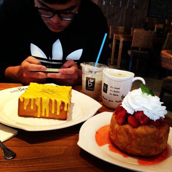 Taiwan Kaohsiung Caffe Bene Dessert