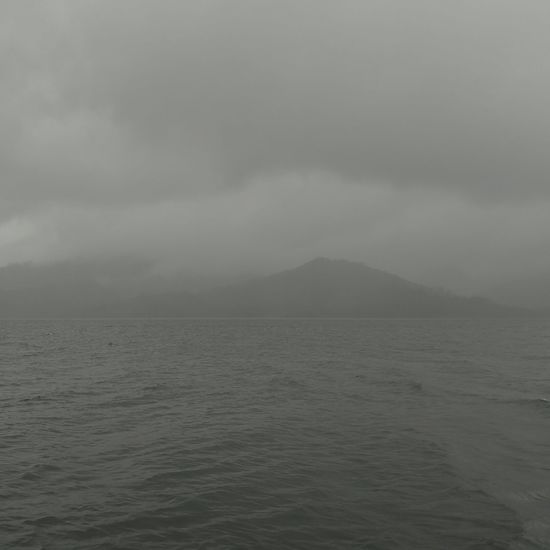 Cloudy day on Lake Arenal CR Storm Cloud