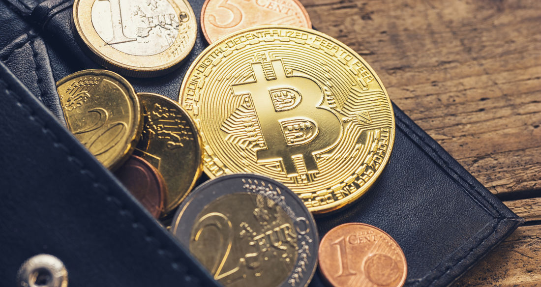 Personal Bitcoin Wallet with euro coins Anonymous Business Currency Gold Trading Virtual Wallet Banking Bit-coin Bitcoin Coin Computer Crypto Cryptography Cyberspace Ethereum Euro Finance Internet Investment Litecoin Mining Money Network Payment