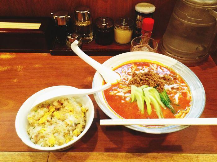 担々麺+炒飯