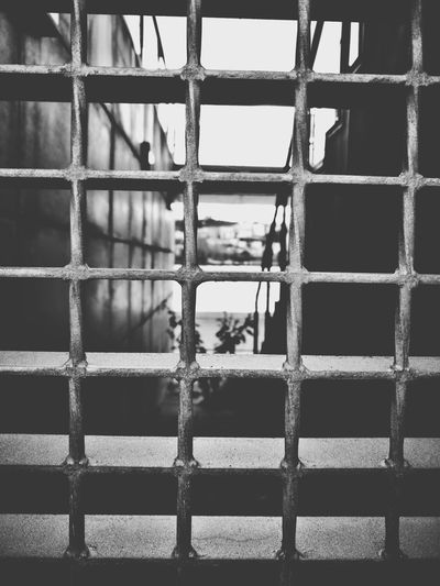 steel. Blackandwhite Photooftheday Photographer Prison Backgrounds Metal Pattern Close-up Prison Bars Prisoner Justice - Concept Law Confined Space Metal Grate Punishment Security Bar Legal System