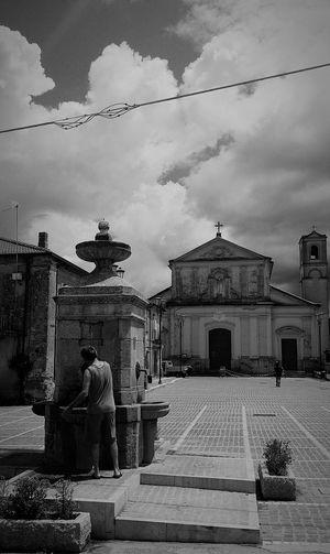 Fontana Terranova Sappo Minulio Calabria Chiesa