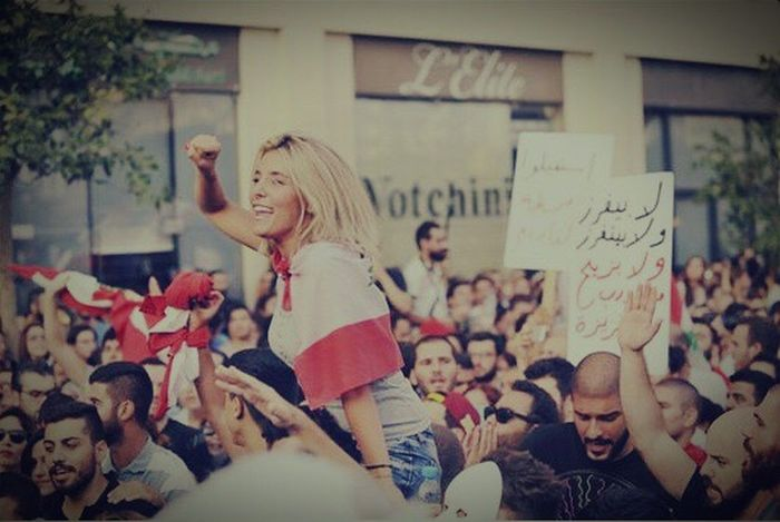 What We Revolt Against Lebanese Revolution Continues