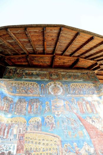 Monastery Wall Painting Voronet