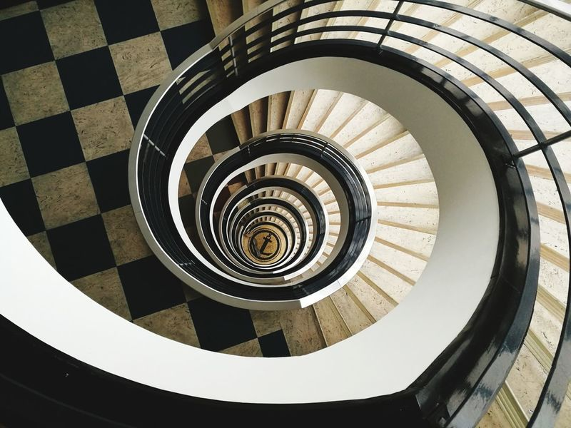 stairs Berlin Berlinstyle Berliner Ansichten Berlin Photography Berlin Love Spiral Staircase Spiral Stairs Steps And Staircases Spiral Steps High Angle View Staircase Railing Design Architecture Stairs Circle Geometric Shape