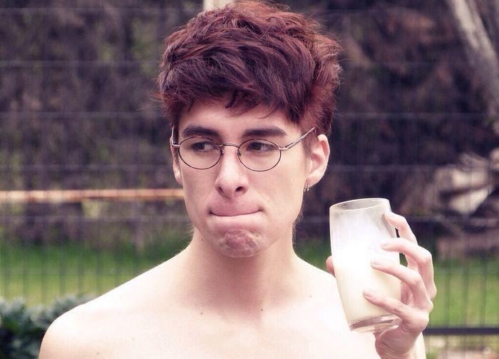 It's just milk