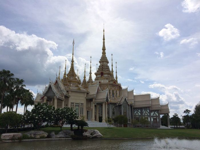 Built Structure ThaiTemple Nakornrachasima Architecture Outdoors Sky No People Religion