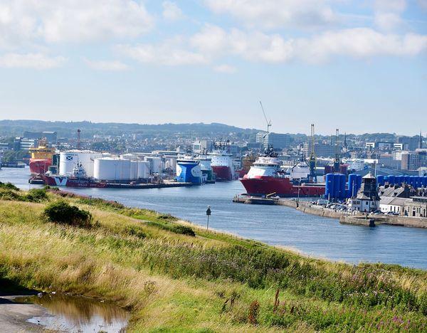 Taking Photos Harbour Aberdeen Nikon D5500