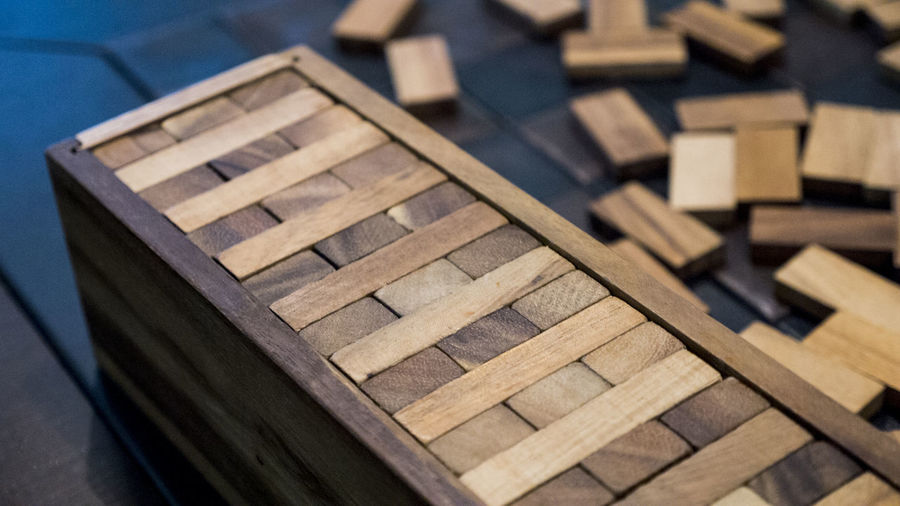 Block Board Game Close-up Design Focus On Foreground No People Toy Block Wood Wood - Material