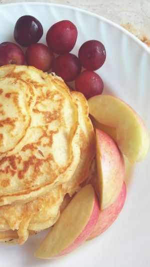 Lovenit Delicious Yummylicious In My Mouf Enjoying A Meal Fresh Fruits Pancake Time Pancakebreakfast Time For Breakfast  Breakfast ♥