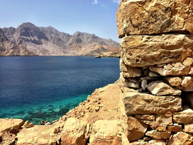 Oman Musandam Oman Wild Places Old Construction Musandam No Filter Check This Out IPhoneography Clear Water