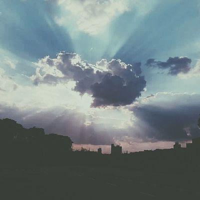 ⛅ Repost Pqsim Sky Sunset sunshine cloud by JoséPereiraFotografia