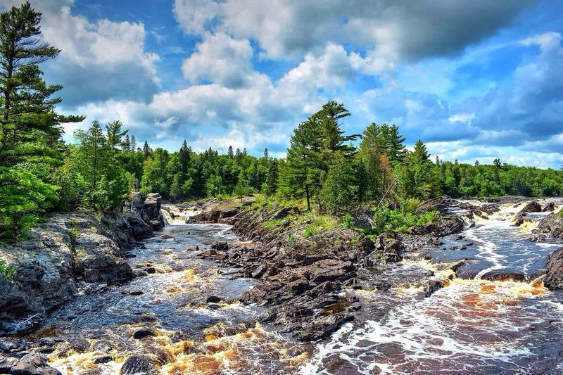 Seeing double at Jay Cooke State Park Streamzoo Landscape_Collection Hdr_Collection Traveling