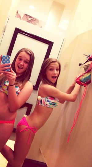 matching bathing suits !