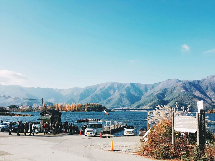 Kawaguchigo lake in winter Japan Travel Destinations Sky Lake District National Park Kawaguchiko Lakeside Kawagichilake Perspectives On Nature Be. Ready.